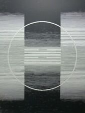 MICHEL SEUPHOR (1901-1999) / GEOMETRIE-LIJNENSPEL / ZW-W LITHO / 75x55cm / SIG