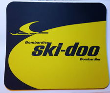 Reproduction Vintage Ski Doo Snowmobiles Color Mouse Pad