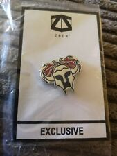 Z Box Geek Exclusive Spartan Knight's Helmet Pin Badge