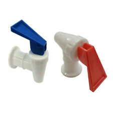 Water Cooler Faucet for Hamilton Beach Hot and Cold, RED and BLUE Combo Pk of 2