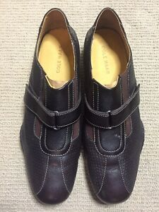 Cole Haan Mens Brown Leather Shoes Size 9.5