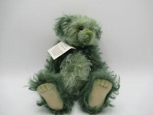 Charlie Bears Minimo Collection Mushy Pea Collectable Bear C1018