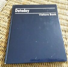 NEW DATADAY VISITORS BOOK