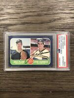 1986 Fleer #649 Jose Canseco Rookie RC Autograph On-Card PSA/DNA Authentic Auto