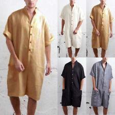 Pantaloni da uomo in misto cotone con tasche