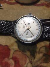 MOVADO TRIPLE CALENDAR FAB. SUISSE 1180 CAL 470 / 1940 STEEL orologio