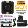 UK Mini Micro HD Cam Hidden Camera Video USB DVR Recording SpyCam SQ11 HOT SALE!