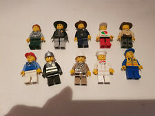 Lego 10x Stadt Figuren Polizei Feuerwehr etc. City Minifiguren