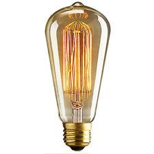 E27 40W Edison Glühbirne Birne Vintage Retro Filament Glühlampe Leuchtmittel