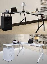 Bureaux et tables d'ordinateur noirs pour le salon