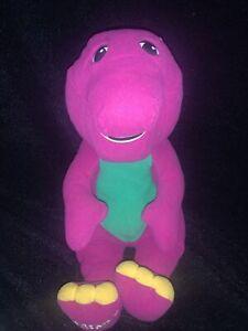 "Talking Barney Soft Toy Plush 15"" Playskool"