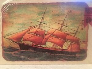 Meyercord Decorator Decals 1517-A Ship Crafts Decopage