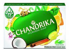 Chandrika Ayurvedic Soap Problem Free Clear Skin Real Ayurveda Hand Made125+75gm
