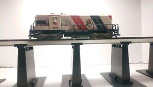 AHM HO Train Seaboard Coast Line Bicentennial GP18 Dummy Diesel Locomotive
