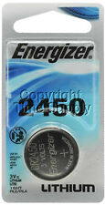 1 2450 ENERGIZER Lithium 3V Batteries CR2450 EXP 03-2025