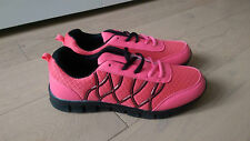 LEAGUE Super Light Weight lace up GYM SPORTS trainers pink size 40 UK 6.5