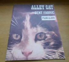 Alley Cat BENT FABRIC Piano Album original piano solos 1962 vintage score