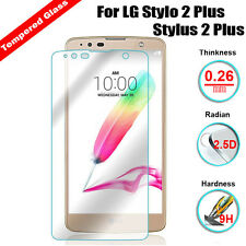 1X Premium Tempered Glass Film Screen Protector For LG G Stylo 2 / Stylus 2