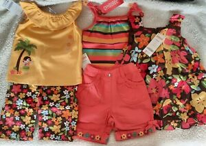Colorful summer outfits new with us$134 tags gymboree sets + dress size 1 12-18m