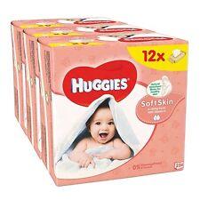 Huggies Soft Skin Baby Wipes Neat Nappy Mother Child Newborn 12 Packs 672 Wipes