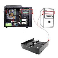 """OImaster 5.25"""" to 3.5""""/2.5""""HDD/SSD Hard Drive Tray Bay Adapter Mounting Bracket"""