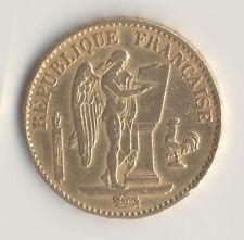 France - 20 Francs Or Génie 1878 A - IIIe République