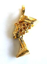 Nefertiti Queen Necklace Pendant Charm Gold Plated Religious Christmas Gifts New