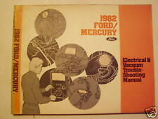 1982 Ford/Mercury Electrical and Vacuum Manual