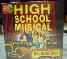 High School Musical DVD Board Game New Sealed Free Ship