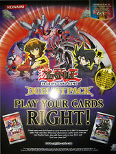 Yu-Gi-Oh Poster Official Konami Duelist Pack GX NEW