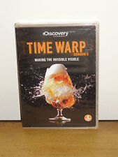 Time Warp: Season 2 (DVD) 4-Disc Set! Educational, Science/Technology, BRAND NEW