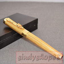 free shipping JINHAO 1200 NOBLEST GOLDEN DRAGON ROLLER BALL PEN new