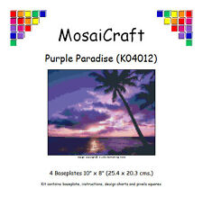 MosaiCraft Pixel Craft Mosaic Art Kit 'Purple Paradise' Pixelhobby