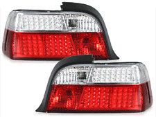 Fanali posteriori LED BMW E36 Coupe cu LED-indicator  red/crystal