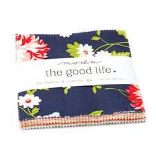"Moda FABRIC Charm Pack ~ THE GOOD LIFE ~ by Bonnie & Camille 42 - 5"" squares"