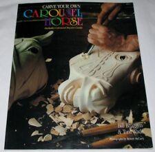 Carve Your Own Carousel Horse 1991 PB Bruggen & Wade LNC