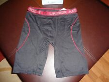 New Mens Under Armour Iso Chill Cooling Boxer Jock. Black Size Small. UA 9 inch