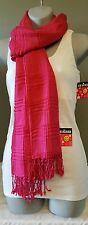 Scarf Women's Fashion Accessory Dark Pink Trendy Hip Joe Boxer Great Gift Idea