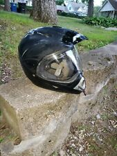 NFX ATV Motorcross 37DS  Supermoto Motorcycle DOT Helmet Black XXL