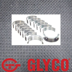 Glyco Set of 5 +020 Main Bearings suits Seat Volkswagen ABF