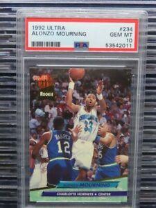1992-93 Fleer Ultra Alonzo Mourning Rc Rookie #234 PSA 10 GEM MINT (11) C924