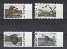 TIMBRE STAMP  4  MICRONESIE  Y&T#133-36 OISEAU BIRD  NEUF**/MNH-MINT 1989 ~A39