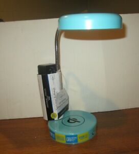 Mainstays LED Wireless Charging Lamp With USB Port - Charges Phone Wirelessly