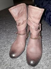 Josef Seibel  Brown leather/ winter  Boots - Size 3 excellent condition