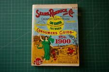 Sears Roebuck and Co. Consumers Guide Fall 1900: 1st PB 1970 Good+ RARE