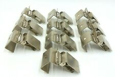 SET OF 10 HEAVY DUTY STRONG METAL HANGING CLIP RUG CLIPS FABRIC CLIPS WITH TEETH