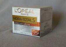 2X L'Oreal Hidra-Total 5 Moisturizer Cream 55+ Anti-Wrinkles {Anti-Arrugas 55+}