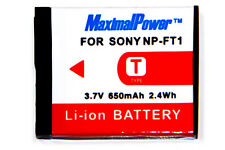 NEW BATTERY FOR SONY NP-FT1 NPFT1 DSC-T11 DSC-T1 DSC-T3