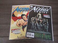 Action Comics #858,859  DC