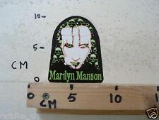 STICKER,DECAL MARILYN MANSON MUSIC